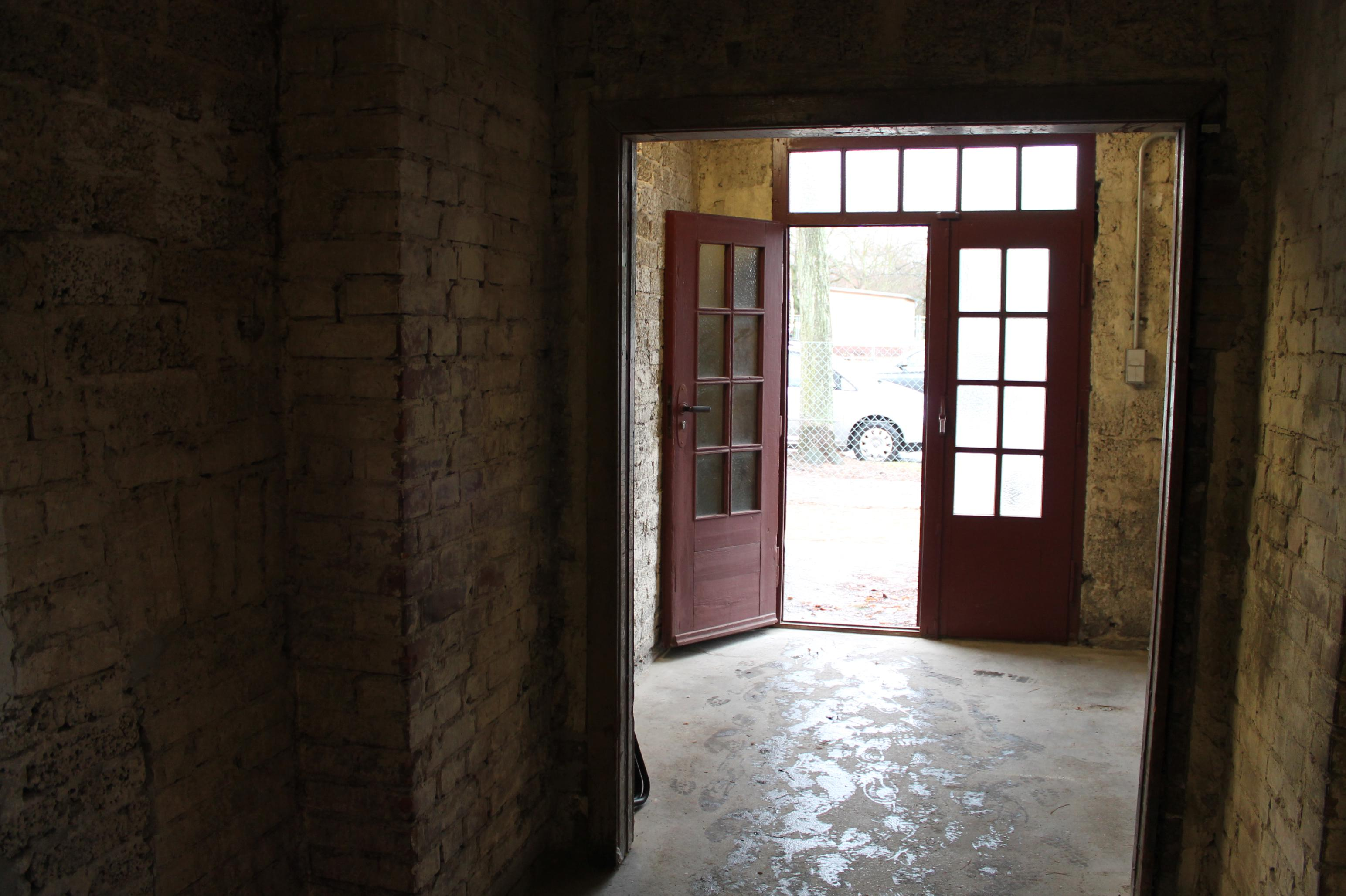 La Baracca 13 al Centro Documentazione del Lavoro forzato a Berlino-Schöneweide; Foto di Titti Naghim