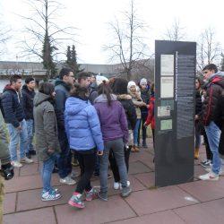 Visita guidata all'area dell'ex campo nazista per Sinti e Rom a Berlino, Viaggio della Memoria 2014