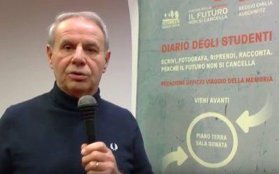 Videomessaggio di Gianni Borghi, presidente Fondazione Manodori