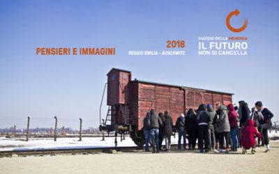 """Ecco il libro fotografico """"Pensieri e immagini Reggio Emilia – Auschwitz 2018"""""""
