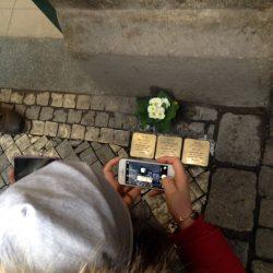 Pietre d'inciampo a Praga, 2016
